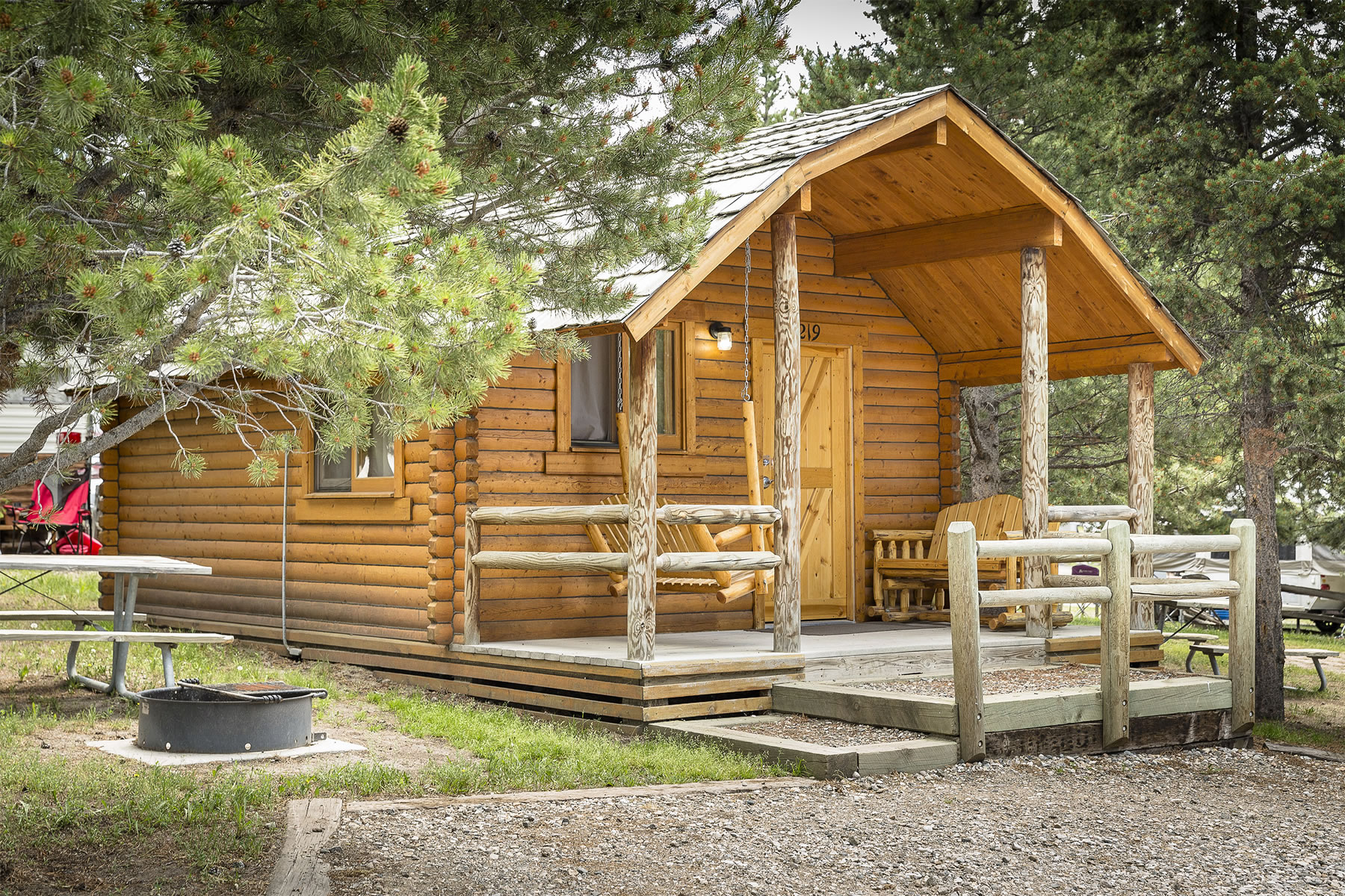 Cabins For All Your Camping Needs Yellowstone Park West
